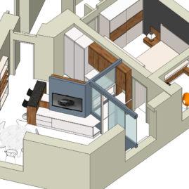 Ako zmeniť 1-izbový byt na praktický 2,5