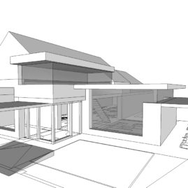 Koncepčný návrh Villa Martin